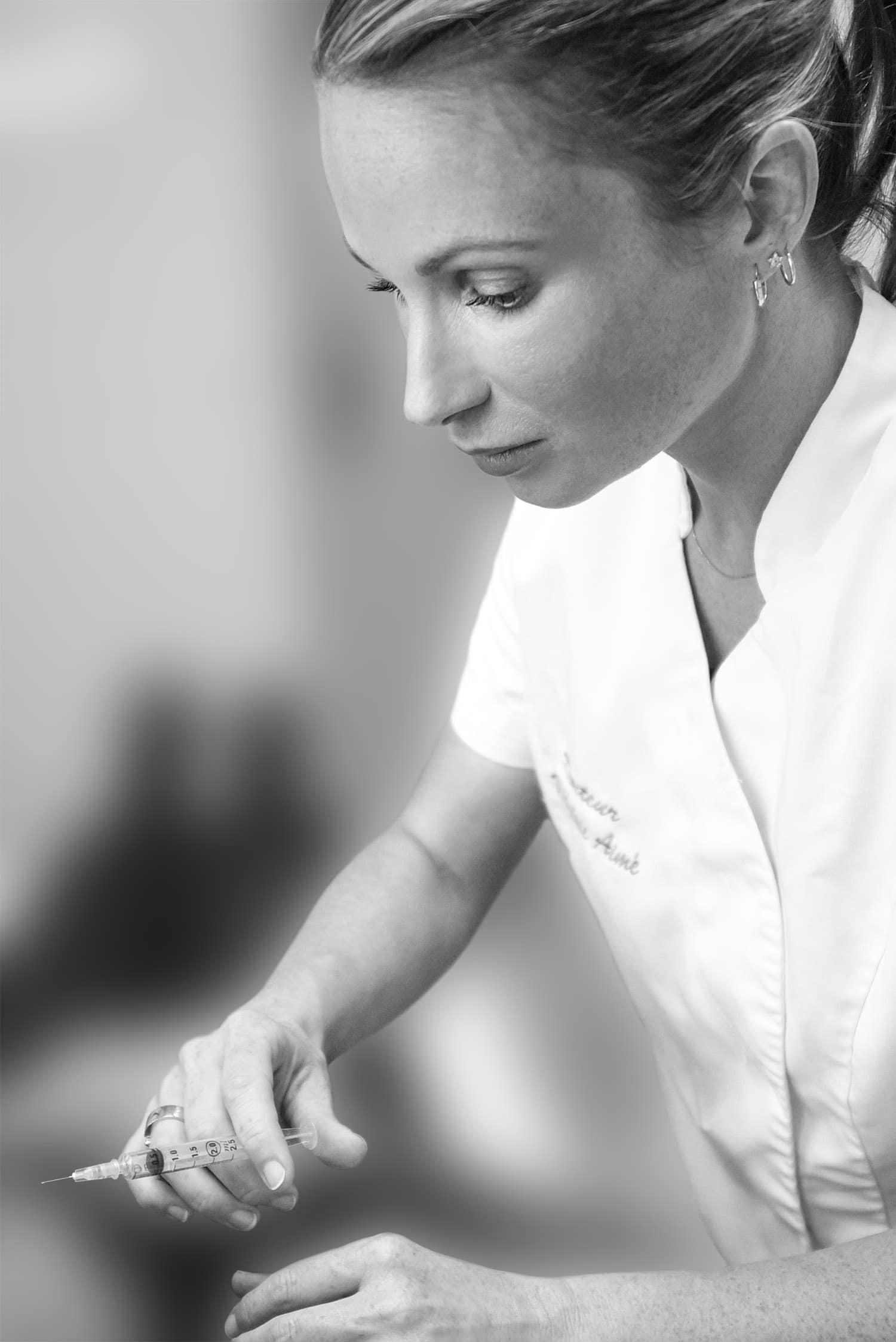 Docteur Aimé injection médecine esthétique
